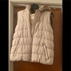 New Girls Hooded Puffer Vest